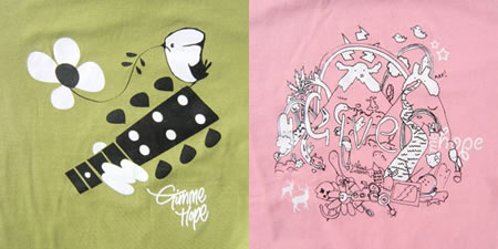 Gimme Hope T-Shirt Collection by HiCalorie