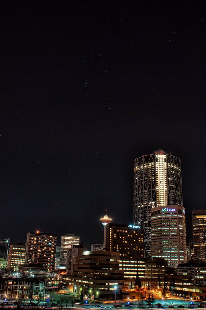 Orion Over Calgary