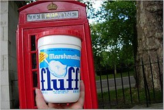 Fluff with Phone box