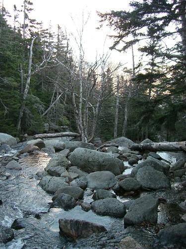 On the Huntington Ravine Trail