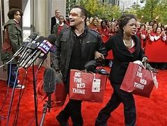 Bono, Oprah y Red Line en Chicago