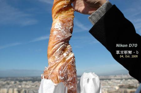 Boulangerie Poujauran的麵包,真是好吃極了。