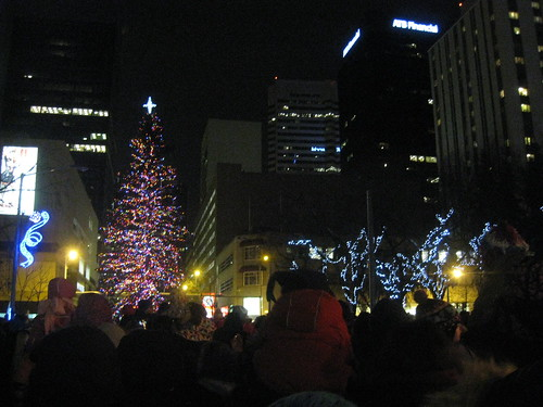 Holiday Light-Up on the Square 2012
