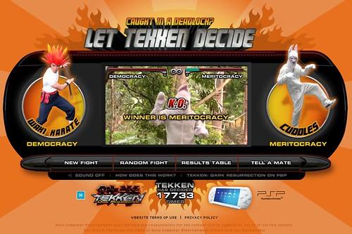 Let Tekken Decide: Democracy vs. Meritocracy