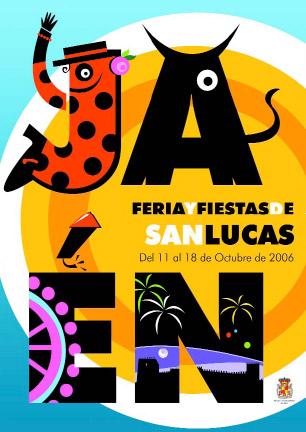 Cartel de la Feria de Jaén