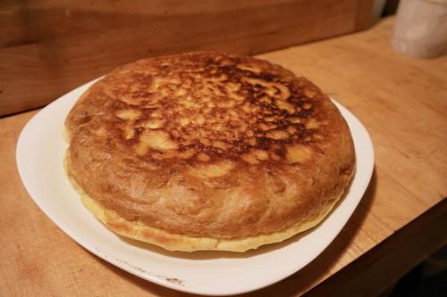 Making Kim Chi Pancake