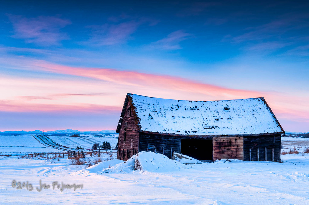 Sunset Barn