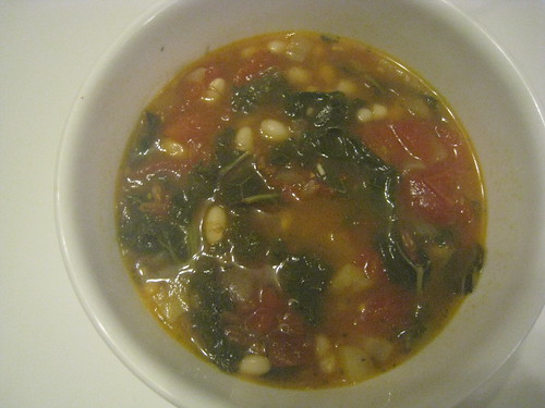Tuscan Kale and Farro Soup