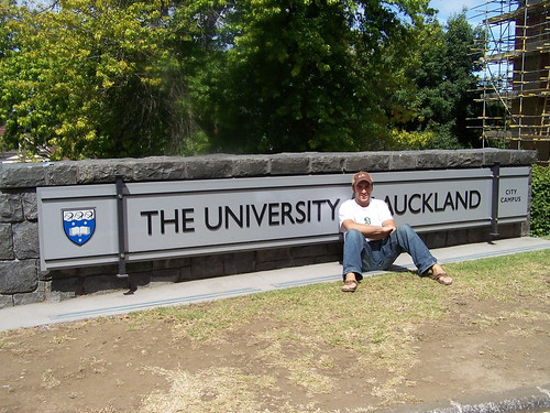 Me at the University of Auckland