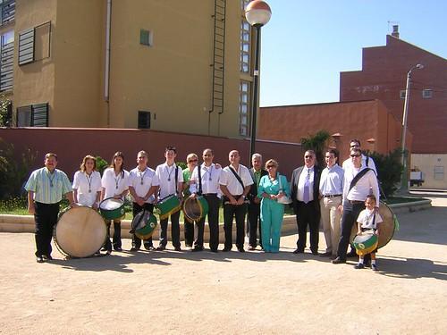Con los tambores de la Cofrad�a