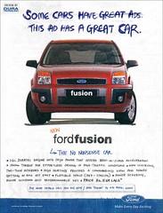 Ford Fusion Print Ad