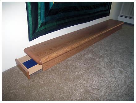 Low Wooden Sideboard
