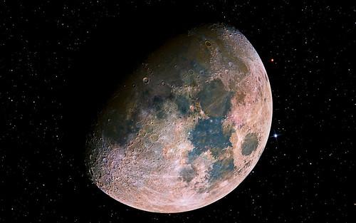 Moon Hypersaturated Widescreen