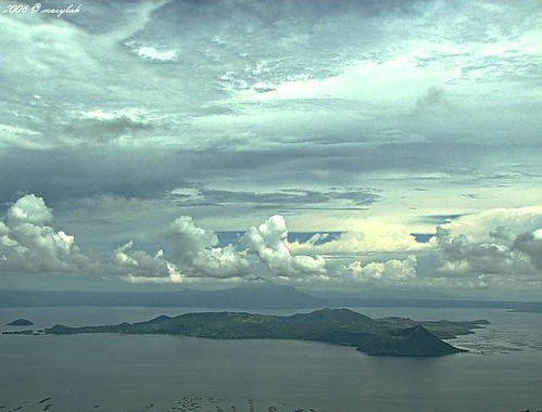 Taal Volcano within Taal Lake
