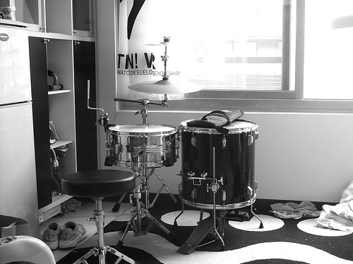 Silently My Drums