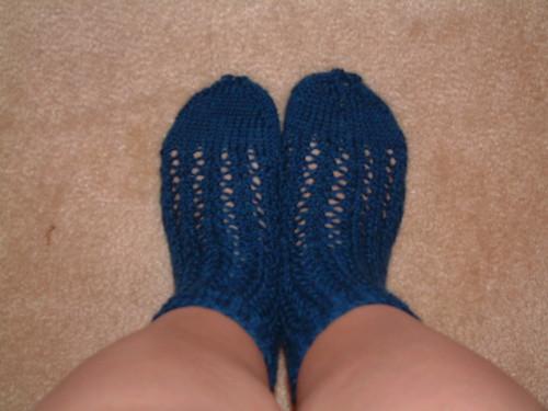 Lacy Mystery socks