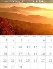 Calendar for Jan 2006