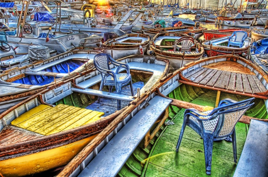 Chairs in Boats