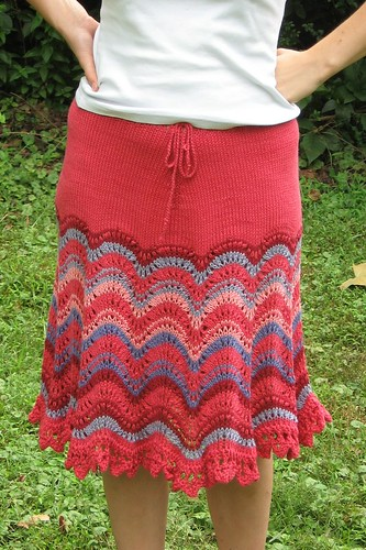 the Wave Skirt is finished!