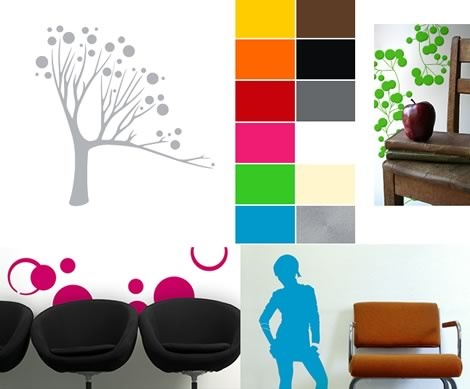 Wall Stickers by dVider