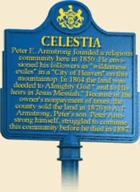 Celestia Historical Marker