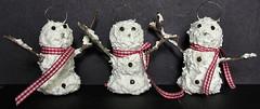Sammie Snowmen Ornaments