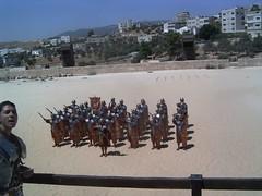 Romeinse soldaten Jerash