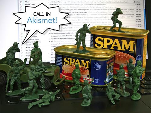 Call in Akismet!