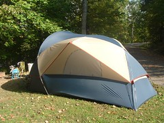 The tent.