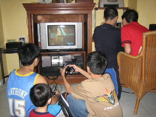 Playing Dota and PS2