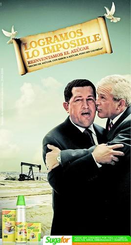 Chávez y Bush