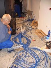 Kábel patchelés