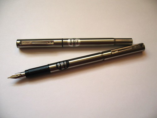 Pilot Birdie Fountain Pens - Capped and Posted