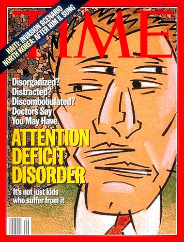 Time Magazine - ADD Cover