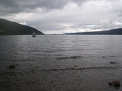 Loch Ness from the shore