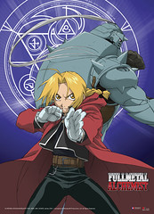 Edward and Alphonse of Fullmetal Alchemist