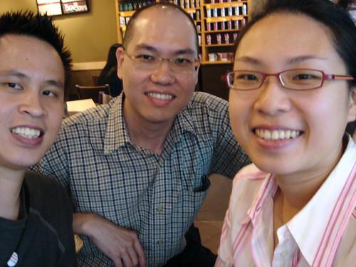 Kevin meets RamblingLibrarian and VanTan