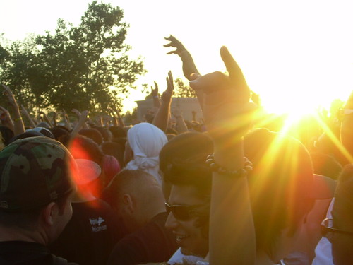 Crowd at Rock The Bells