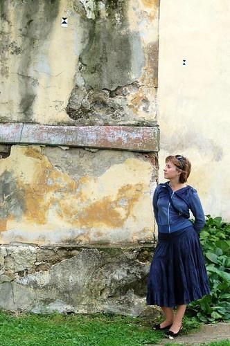 Wall of Trakai church