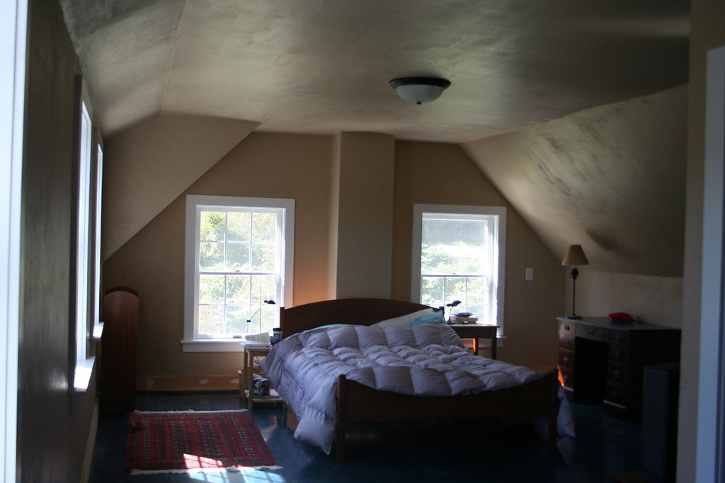 Bedroom Painted in Squirrel's Tail