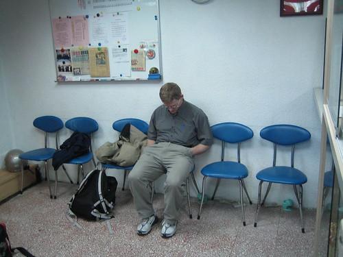 Scott Sleeping