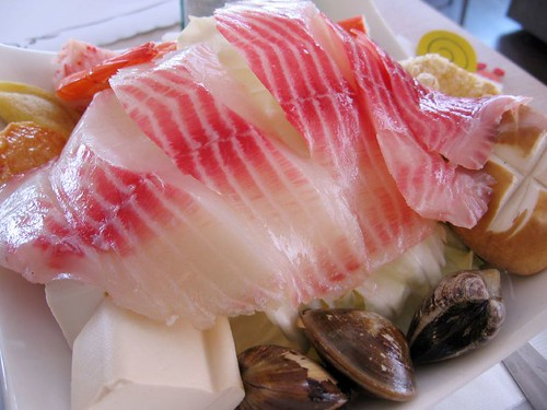 fish for a hotpot dish
