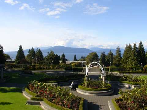 UBC view of mountains