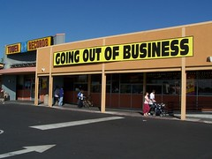 Tower Records, going out of business.