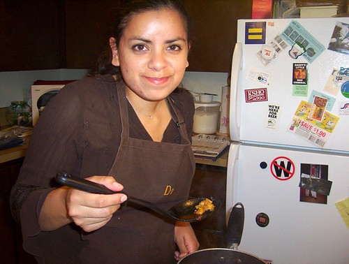 cooking olluquito