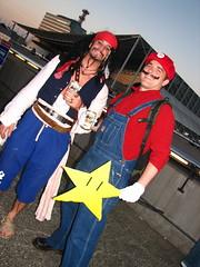 Jack Sparrow y Super Mario