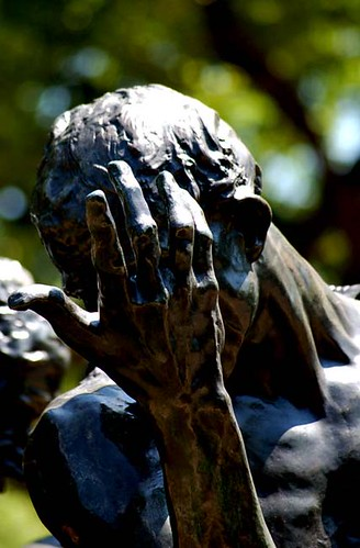 Rodin, The Burghers of Calais, the Hirshorn Museum