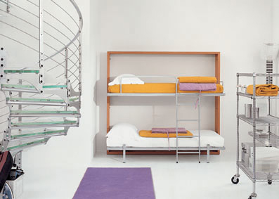 Lollipop bunkbed
