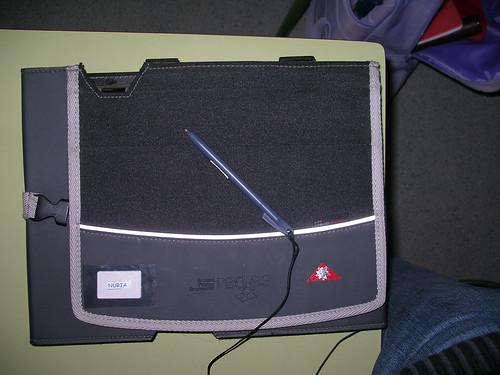El TabletPC  a la funda