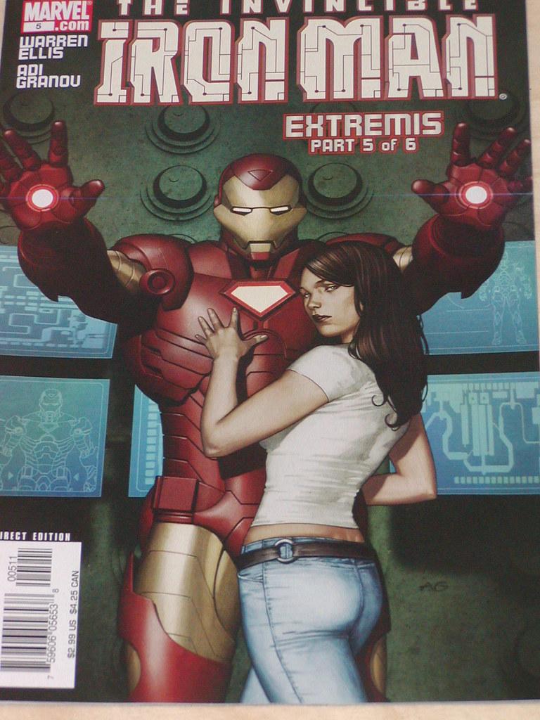 Portada Iron man #5